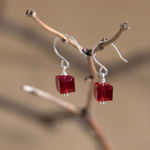 Cancer Swarovski Crystal Earrings