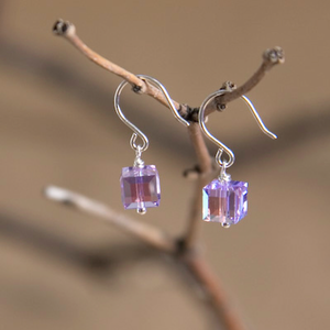 Gemini Swarovski Crystal Earrings