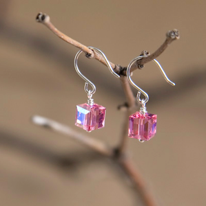 Libra Swarovski Crystal Earrings