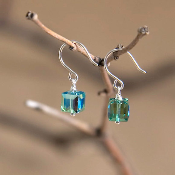 Sagittarius Swarovski Crystal Earrings