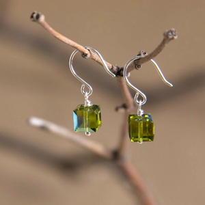 Taurus Swarovski Crystal Earrings