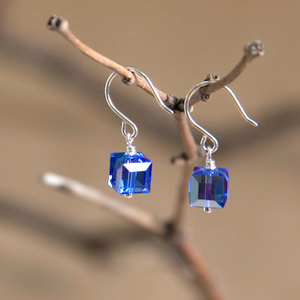 Virgo Swarovski Crystal Earrings