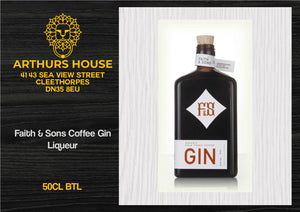 Faith & Sons Coffee Gin Liqueur