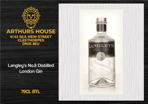 Langley's No.8 Distilled London Gin
