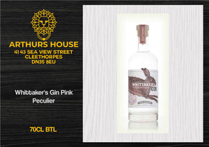 Whittaker's Gin Pink Peculier