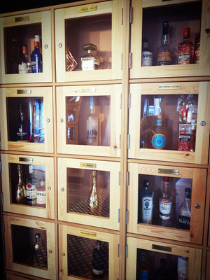 VIP Private Drinks Cabinet