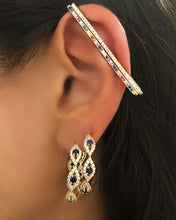 Slim Bar - Rectangular Cuff Earring