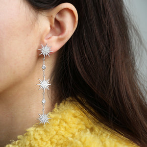 Starburst - Drop Earrings
