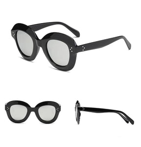 Kendra - Oversized Retro Chunky Sunglasses