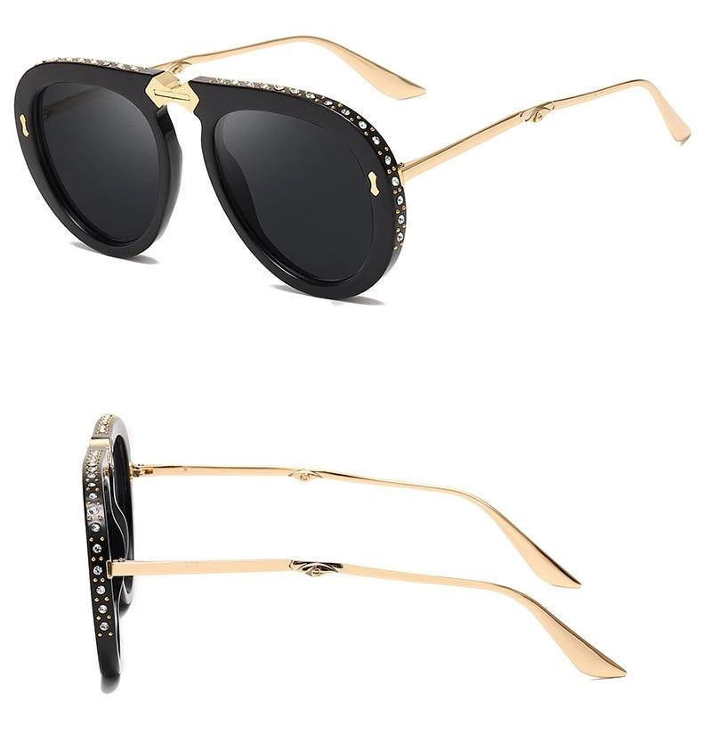 Pia - Foldable Aviator Sunglasses