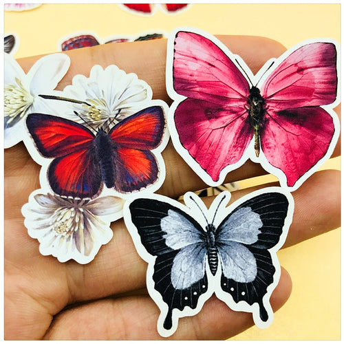 Beautiful Butterflies - Scrapbooking/Journaling Stickers Set