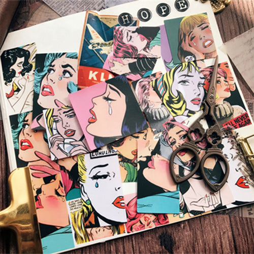 Vintage Dame - Scrapbooking/Journaling Sticker Set