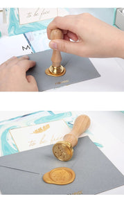 To Be Free - WaxSeal Stamp Stationery Set
