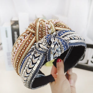 Ultra Sequin - Knotted Headband