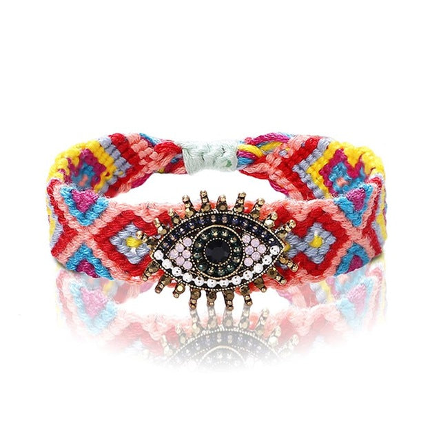 Evil Eye Protection - Friendship Bracelet