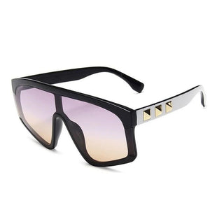 Lexi - Studded Shield Sunglasses