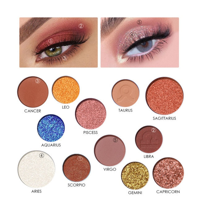 The Constellations - Eyeshadow Palette
