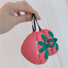 Sweet Strawberry - Silicone Apple Airpods Case 1/2