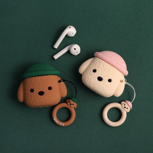 Puppy Love - Silicone Apple Airpods 1/2 Case