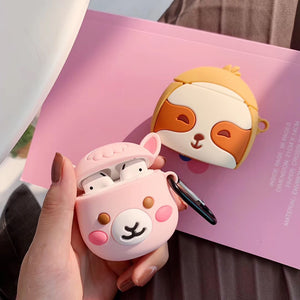 Alpaca & Sloth - Silicone Apple Airpods 1/2 Case