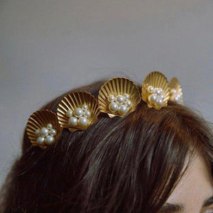 Under the Sea - Metal Headband + Hair Clip