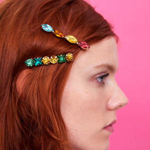Tropical Bling - Hair Clips + Set