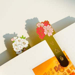 Sweet Bouquet - Metal Bookmark