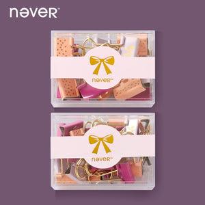 Pink Diva - Binder Clip Set