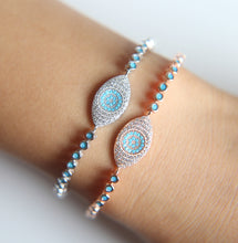 Evil Eye Protection - Turquoise Bracelet