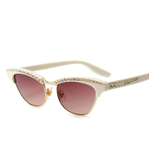 Diana - Retro Cat-eye Sunglasses