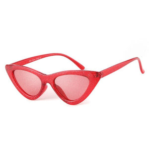 Julia - Glitter Lens Cat-eye Sunglasses