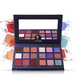 Mysterious Mask - 18 Color Eyeshadow Palette - taylormadison.store
