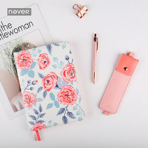 Pink Floral - Weekly Planner/Bullet Journal A5