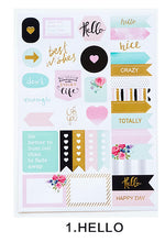 Happy Thoughts - Decorative Stickers