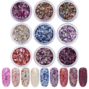 Dynamic Colored - Metalic Flakies - taylormadison.store