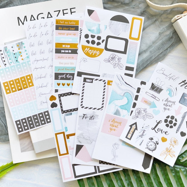 Fill in the Blank - Journaling Stickers
