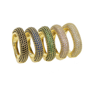 Ultra Bling Incrusted - Cocktail Ring