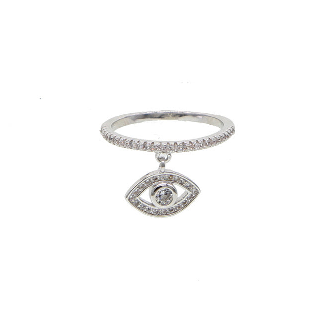 Evil Eye Protection - Charm Ring