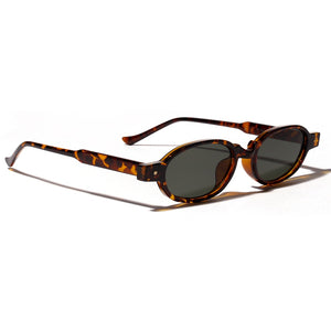 Hannah - 90's Inspired Oval Sunglasses