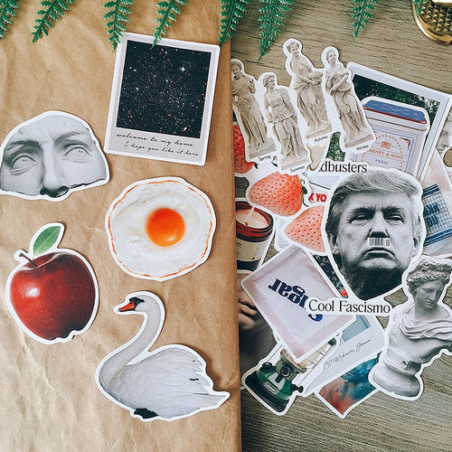 Pop Culture Madness - Scrapbooking/Journaling Sticker Set