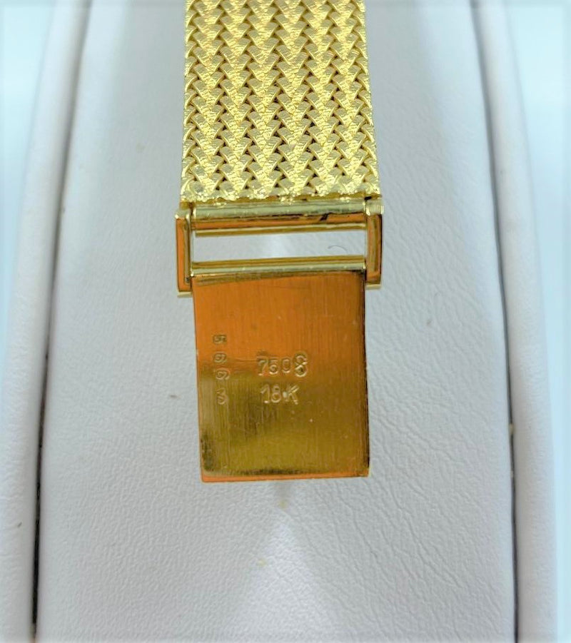 18K Yellow Gold & Diamond Lady's Wristwatch