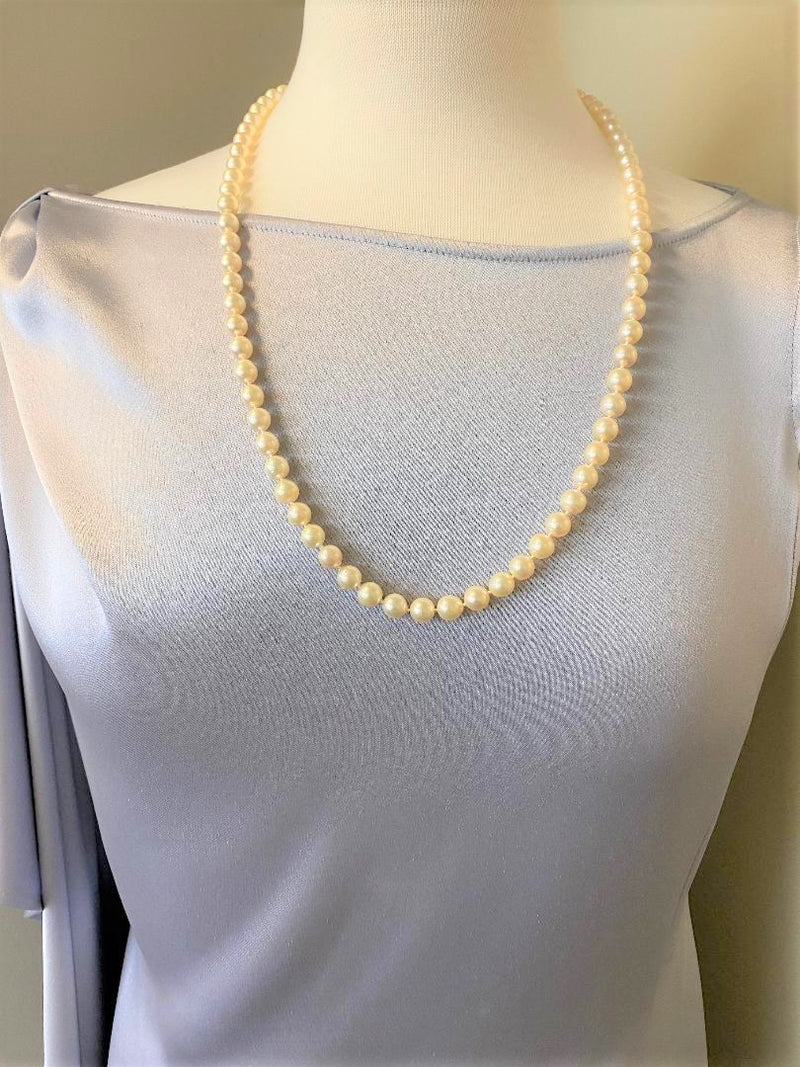 Strand Cultured Pearls with 14K Yellow Gold Clasp