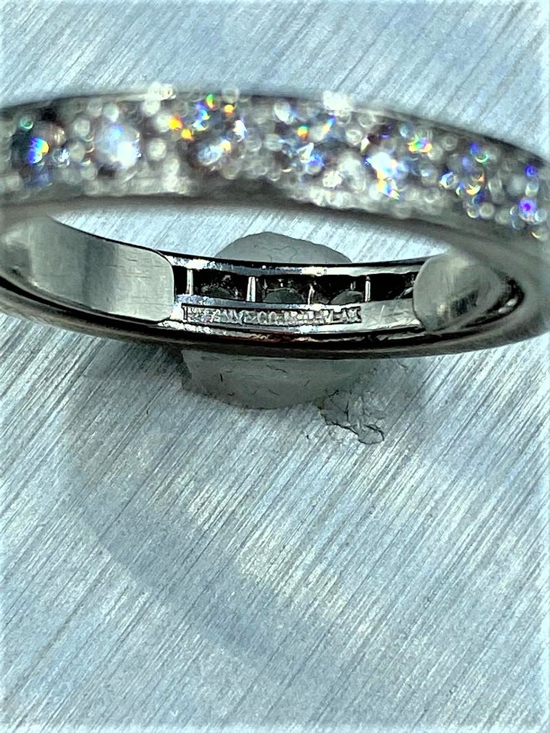 TIFFANY Platinum Diamond Eternity Band