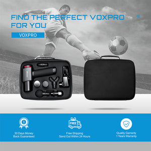 Voxpree Voxpro Percussion Massage Gun for Athletes