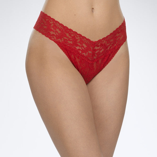 Hanky Panky: Original Rise Signature Lace Thong - Multiple Colors
