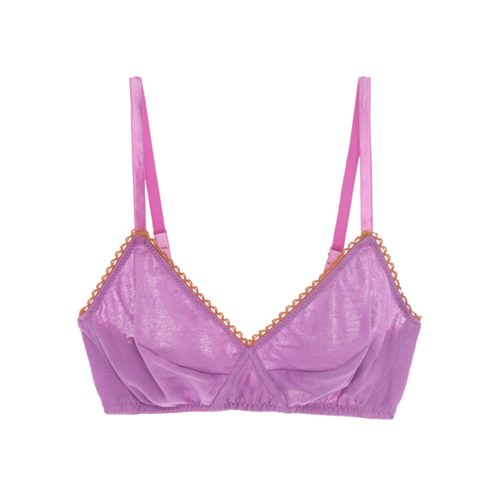 Araks: Antonia Cotton Wireless Bralette - Charoite