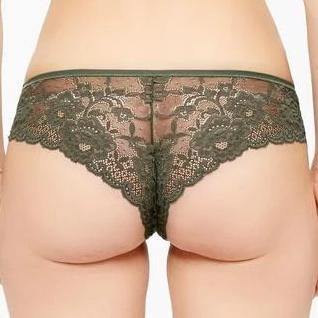 Montelle: Coquette Brazilian Brief - Forest Night