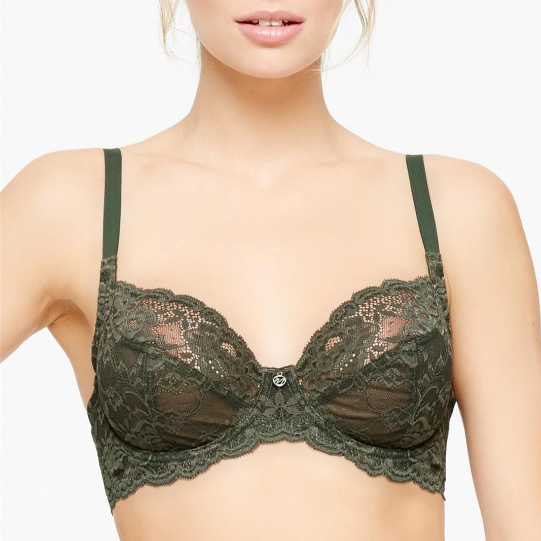 Montelle: Divine Full Cup Bra - Forest Night