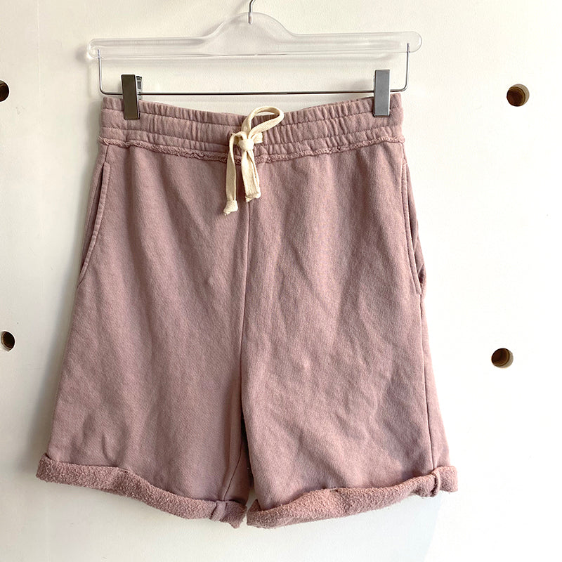 Back Beat Co.: Recycled Cotton Gym Short - Mushroom
