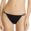 Beth Richards: Link Bikini Bottom - Black